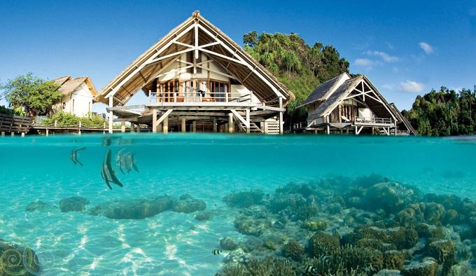 12 Hotel Tepi Pantai Terbaik di Indonesia - Misool Eco Resort