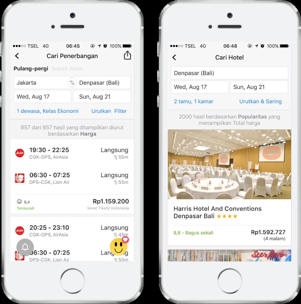 Aplikasi Skyscanner terbaru memudahkan semua kebutuhan perencanaan perjalanan Anda
