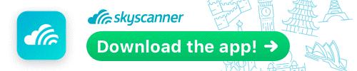 Unduh aplikasi Skyscanner di sini