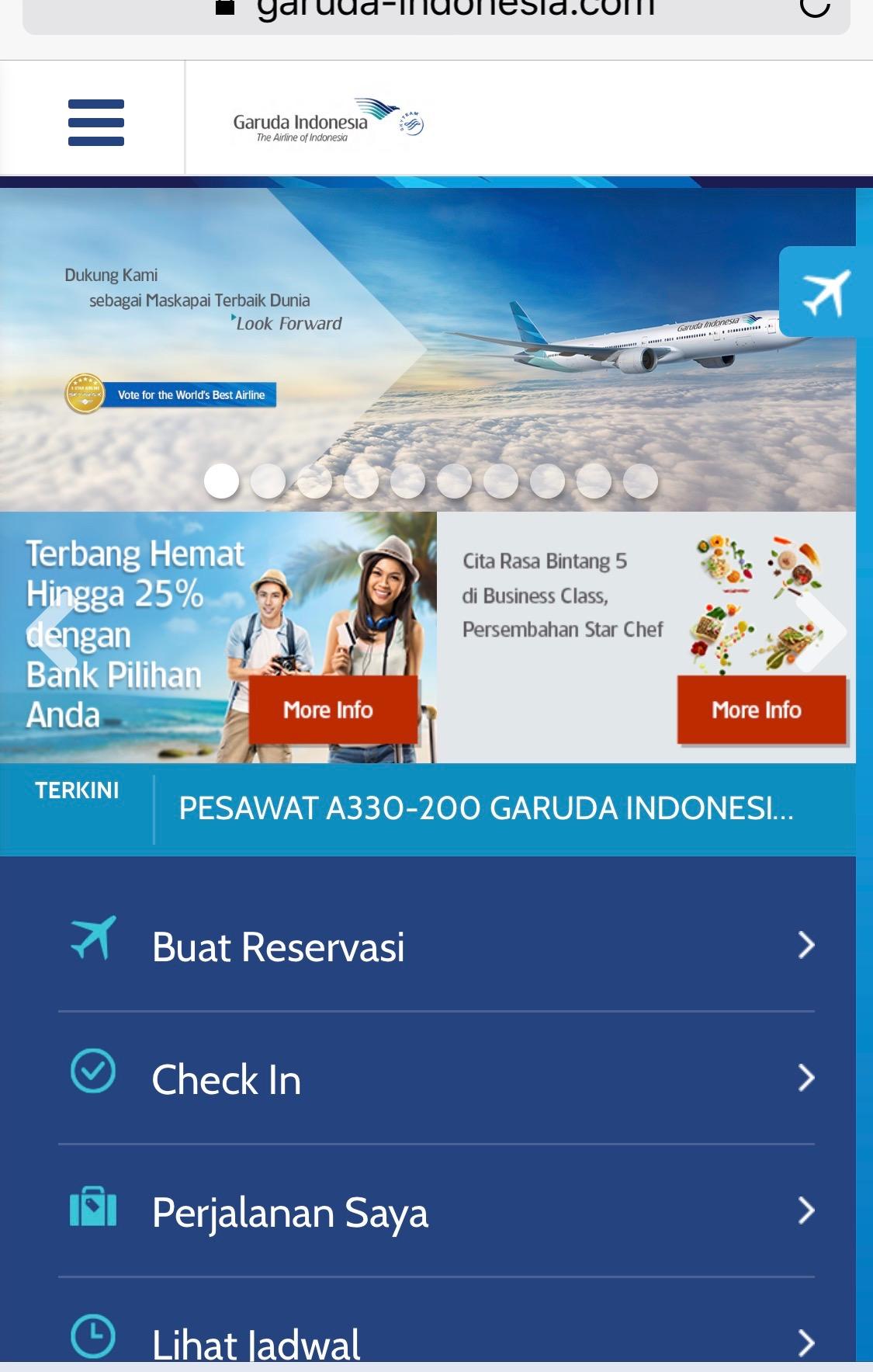 cara check in pesawat garuda indonesia skyscanner indonesia rh skyscanner co id
