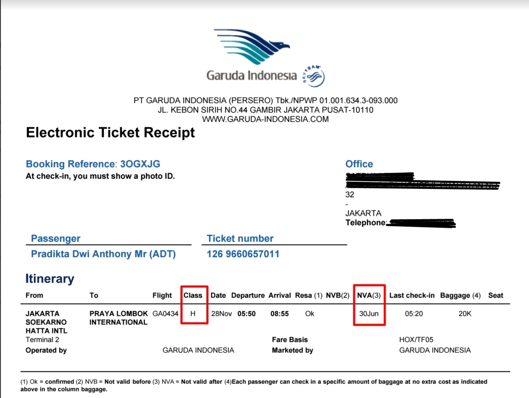 Informasi Refund Tiket Garuda Indonesia Skyscanner Indonesia