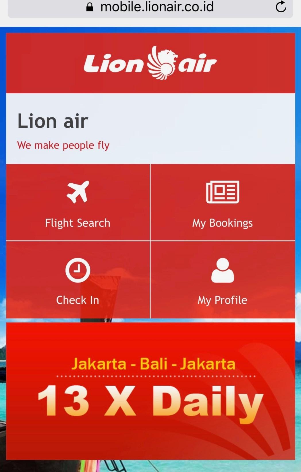 Cara Check In Pesawat Lion Air Skyscanner Indonesia