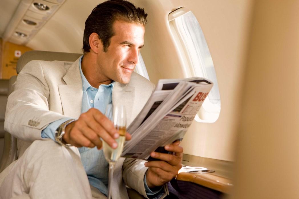 Terbanglah di kelas bisnis