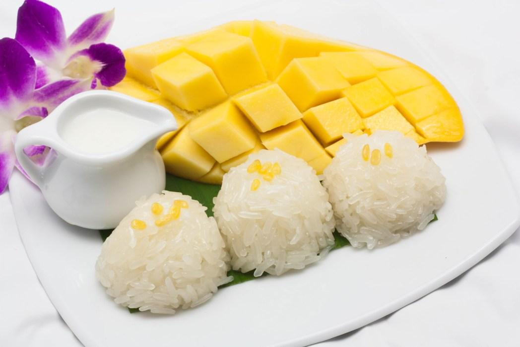 Kuliner lezat khas Thailand: Mango Sticky Rice