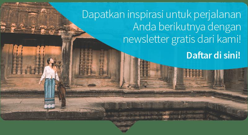 Mau dapat info serupa seperti ini dan tips-tips lain terkait visa dan traveling langsung ke e-mail Anda? Ayo berlangganan newsletter Skyscanner!