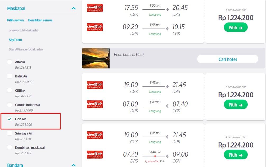 strategi mencari tiket pesawat murah walau sedang tidak promo rh skyscanner co id